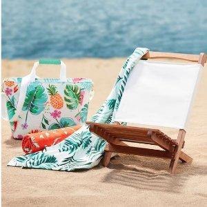 低至3.4折起 $10收沙滩巾Indigo 缤纷夏季沙滩浴巾清仓热卖