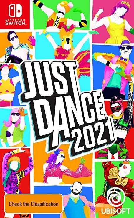 《Just Dance 2021 》Nintendo Switch 实体版