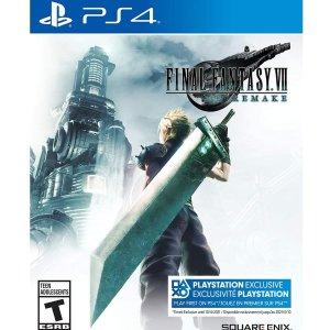 $54.96(原价$79.99)《最终幻想7 重制版》PS4实体版