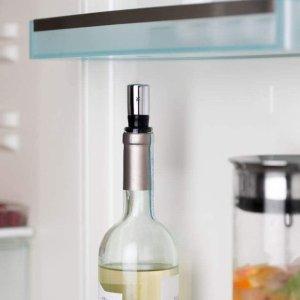 折后仅€11.9 原价€14.99WMF 金属葡萄酒瓶塞 金属和树脂制成 轻轻放下即可密封