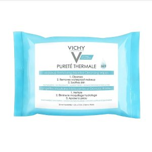 $0.99Vichy Purete Thermale 3-in-1 Makeup Remover Wipes with Micellar Cleanser Water