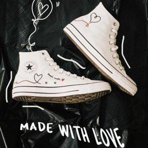 帆布鞋€19.99起 收欧阳娜娜同款Chuck 70 X Love Thread 折扣区超好价 经典百搭 多爆款色可选