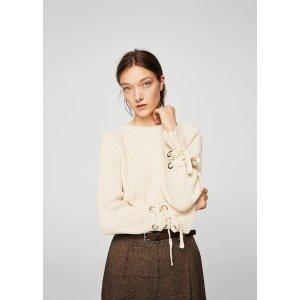 MangoBow textured sweater