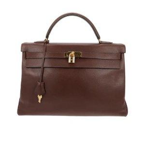 HermesKelly 40 leather handbag 70 Hermes