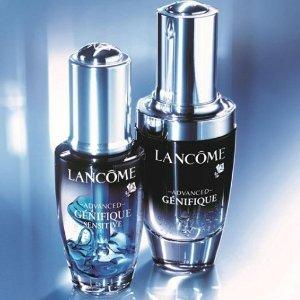 Last Day: $66.3 + Choose your 7 piece sample giftwith Advanced Génifique Sensitive Serum @ Lancôme