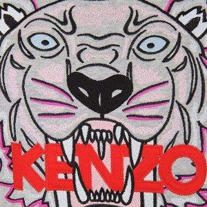 虎头短袖T恤仅$93独家:Kenzo 精选 女士、中性夏季T恤、卫衣等热卖