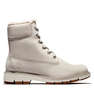 Timberland粉色登山靴