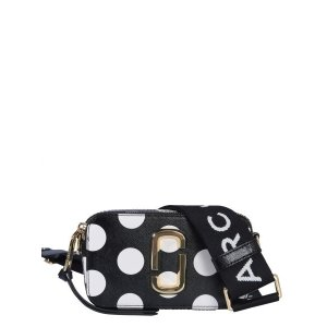 Marc JacobsDOT SNAPSHOT LEATHER BAG