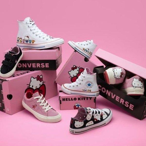 Converse x Hello Kitty @ Nike.com From