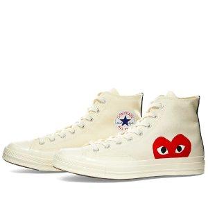 小爱心帆布鞋