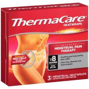 $5.94 姨妈期必备ThermaCare 月经疼痛缓解保暖贴(3片装)