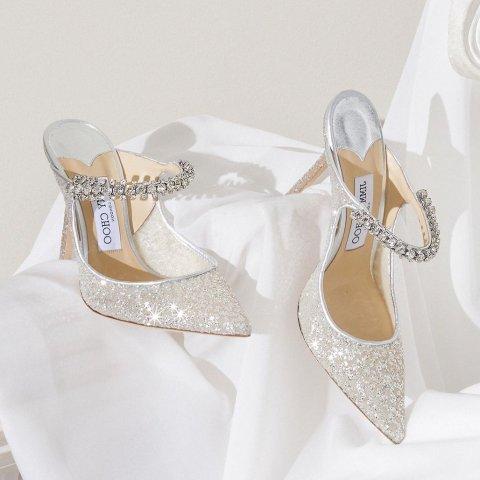 4.5折起  闪钻Gala芭蕾鞋$377Jimmy Choo 高跟鞋热促 气质女孩必须拥有一双Blingbling