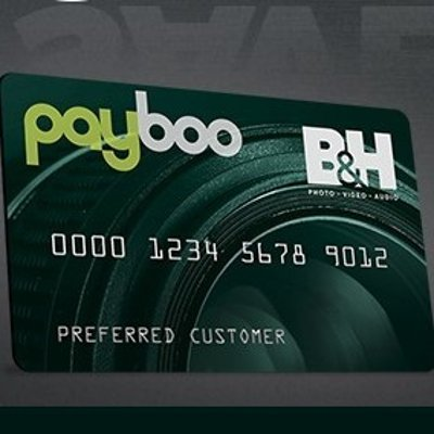 Offset Your State Sales TaxB&H Photo Payboo Credit Card