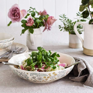 餐桌上的春天,请慢用~~美国好物推荐--Dorotea 手绘小清新餐具系列