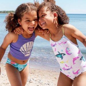 限时7折 $30.8收主图款Hatley 熊孩子玩水必备泳衣 夏天就要去海边浪