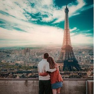 直飞往返$321起 含情人节日期洛杉矶--法国巴黎 往返机票低价 10月-明年3月