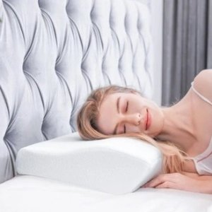 LIFEASEContour Memory Foam Pillow for Neck Pain Relief 23.6 X 13.8 X 4.3 Inch [5-7 Days U.S. Shipping]