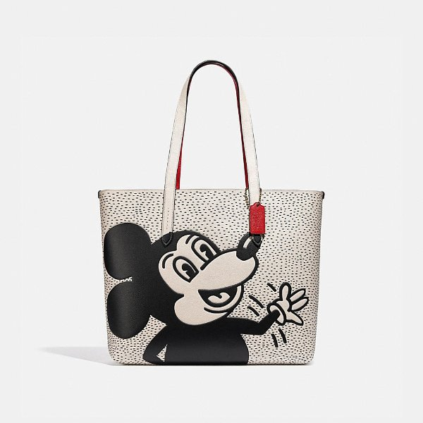 Mickey Mouse X Keith Haring 托特包