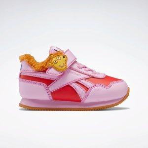 X 小猪佩奇 粉色毛绒运动鞋 小童款