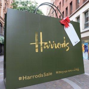 英镑汇率降低,额外9折还能自动退税!Harrods购物结账详解,全网定价最低的Chloe,Burberry如何淘