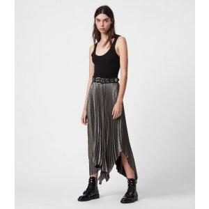 金属感半身裙