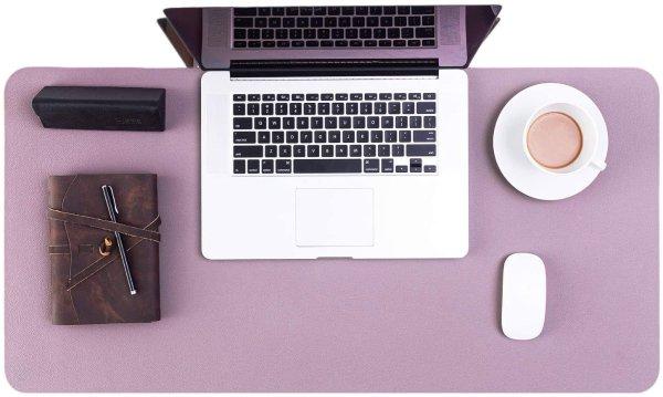 皮质大号鼠标垫 紫色
