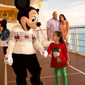 圣诞主题迪士尼邮轮 12月4天3晚巴哈马行程