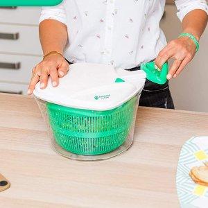 折后€23.77 沙拉更美味freegreen 蔬菜沙拉脱水器热促 轻轻一拉快速甩干