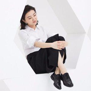 新品低至7.5折 清仓低至5折 包邮即将截止:GEOX官网 鞋履Labor Day促销,呼吸透气高品质,景甜代言