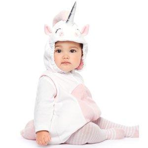 低至3.4折 封面款$15折扣升级:Carter's官网 儿童万圣节服饰热卖,收亲子款睡衣
