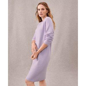 Ann TaylorDrop Shoulder Sweater Dress | Ann Taylor