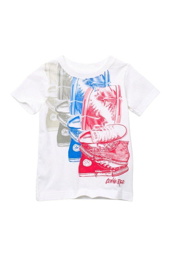 男童运动t恤