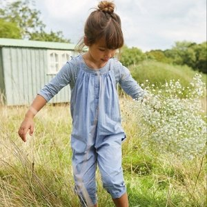 The White CompanyChambray Playsuit & Top Set (1-6yrs) | Girls' Clothing | The White Company