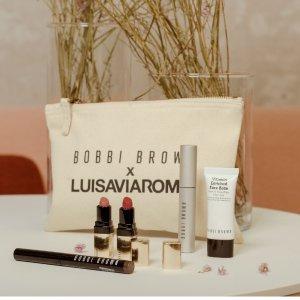 直接7折 黑白各一套BOBBI BROWN X LVR 合作美妆套盒热卖 拼手速时刻