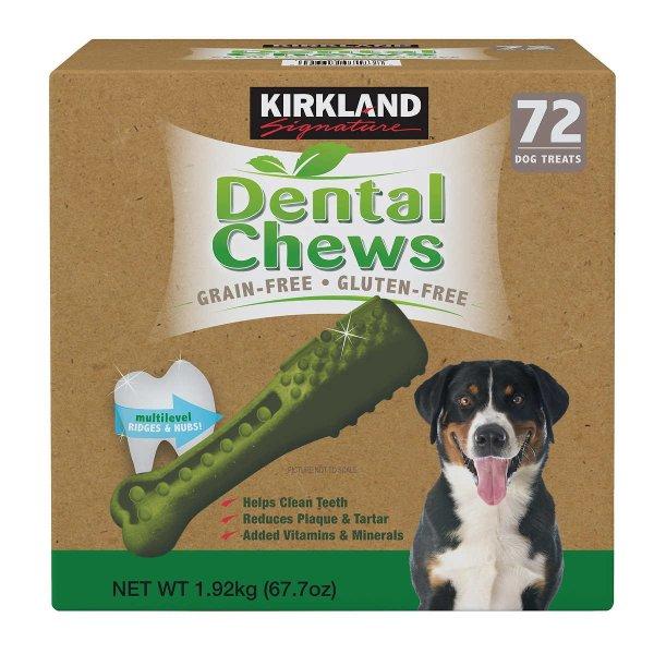 狗狗磨牙零食 72-count