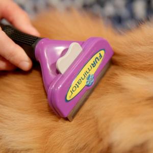 6折起 专利技术帮你告别漫天飞毛FURminator 富美内特宠物梳子 高效清除浮毛