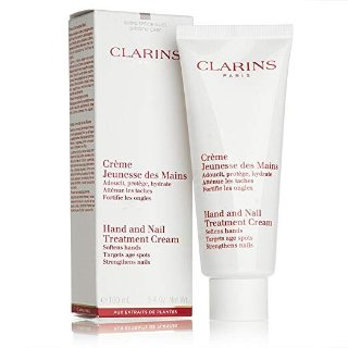 Clarins Hand & Nail Treatment Cream, 3.4-Ounce @ Amazon