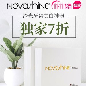 30% Off + Free Shipping11.11 Exclusive: Novashine Teeth Whitening Kit Sale
