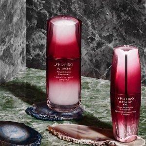全场9折 + 退17%税Harrods精选Shiseido护肤品,收红腰子、百优面霜