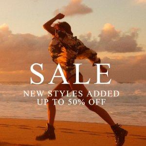 5折起 £31收千玺同款 £19收条纹T恤上新:AllSaints 年中大促正式起航 潮酷美衣暂时码全 速收!
