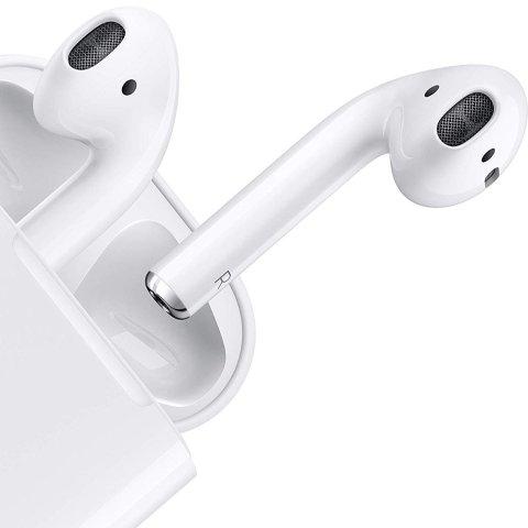 8折起,£126收新版AirPodsApple 第2代AirPods蓝牙耳机热卖 真香神器