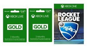 $24.99Buy 3 Months of Xbox Live Gold get 3 month free + Rocket League