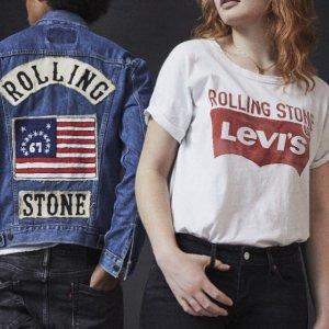 低至5折 £21收T恤Levi's官网 精选男女牛仔裤、T恤、夹克、鞋履热卖