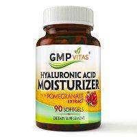 GMP Vitas 玻尿酸红石榴萃取精华软胶囊90粒