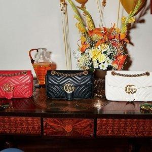 低至4.5折+最高立减$50补货:Gucci、Celine、Chloe 等专场,GUCCI Sylvie $1200+