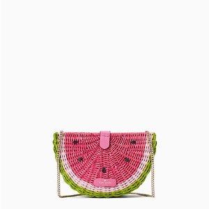 低至3折+免邮kate spade 小可爱水果系列上架 西瓜项链$25 封面西瓜包$100+