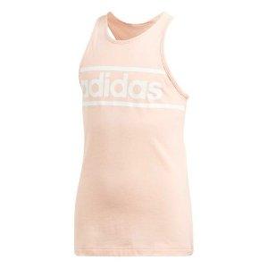粉色运动背心