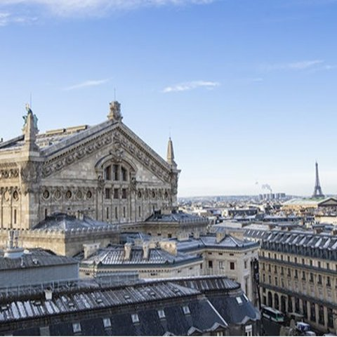 11月20日到12月31日免费开放巴黎老佛爷百货 屋顶平台免费开放滑冰+免费出借溜冰鞋