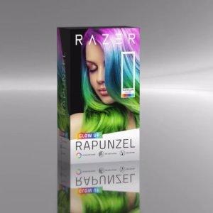 我RGB我自己Razer Rapunzel 长发公主 幻彩染发剂