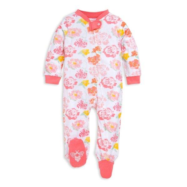 婴童有机棉连体睡衣 宽松版